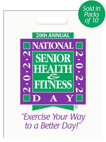 National Senior Health & Fitness Day® Handout Bags