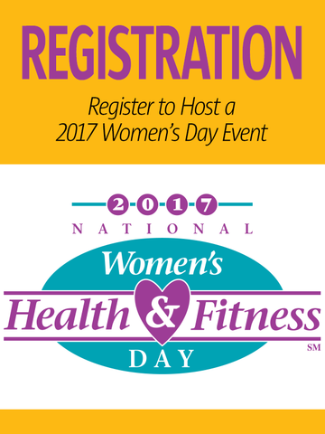 National Women's Health & Fitness Day Event Registration