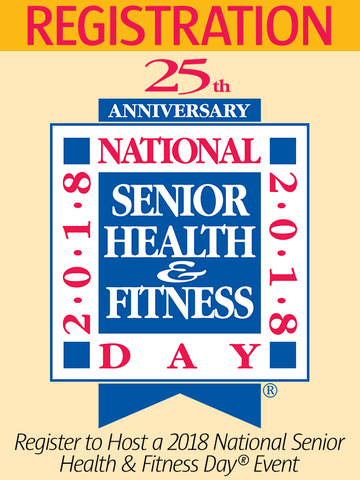 2018 National Senior Health & Fitness Day Event Registration