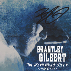 Brantley Gilbert - The Devil Don't Sleep (Deluxe CD) - Autographed