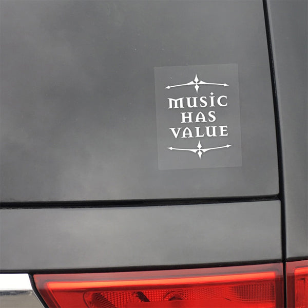 MHV Window Decal