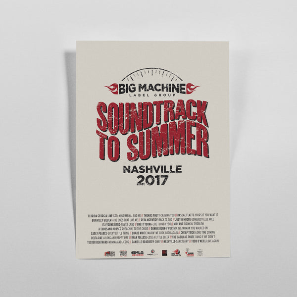 Soundtrack To Summer Poster