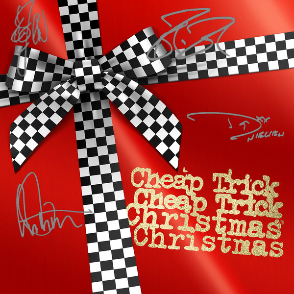 Cheap Trick - Christmas Christmas - Autographed CD