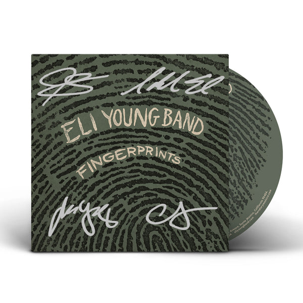 Eli Young Band - Fingerprints - Autographed