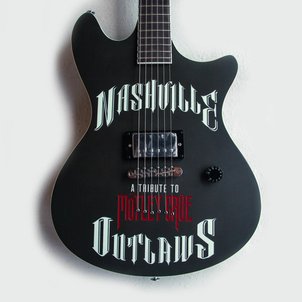 Motley Crue - Nashville Outlaws Guitar