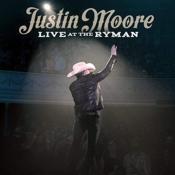 Justin Moore - Live At The Ryman - Digital Download