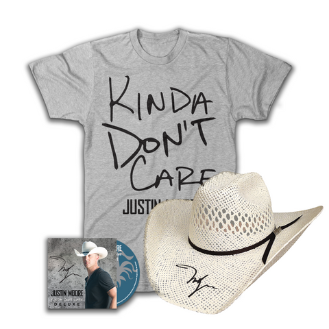 Justin Moore Kinda Don't Care Deluxe Bundle