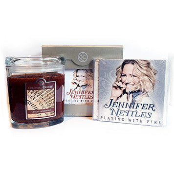 Jennifer Nettles - Playing With Fire - Exclusive Candle Bundle