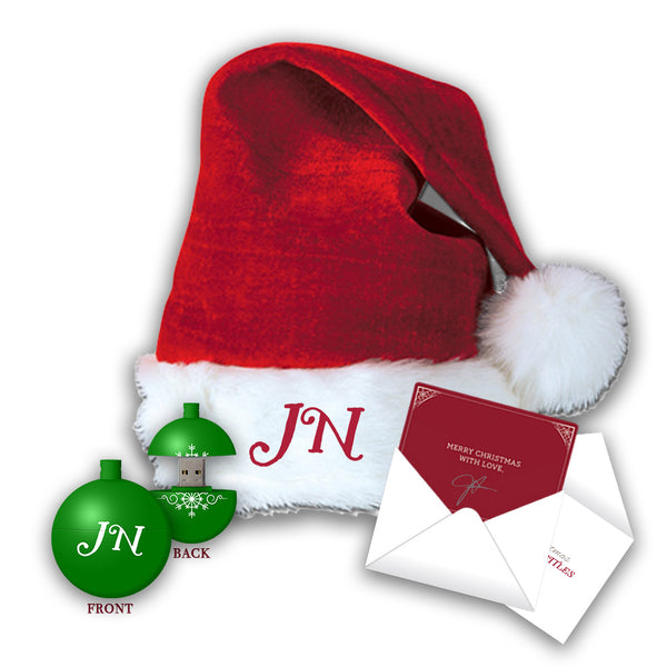 Jennifer Nettles Hat + USB Ornament Bundle with FREE! Signed Christmas Card