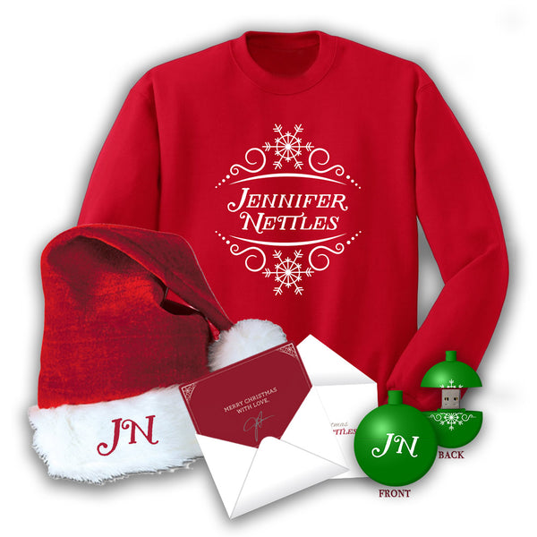 Jennifer Nettles Ultimate Christmas Bundle with FREE! Signed Christmas Card