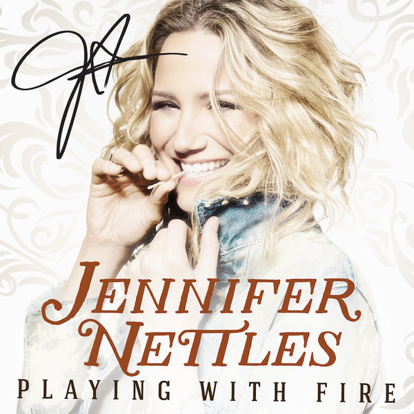 Jennifer Nettles - Playing With Fire - Autographed