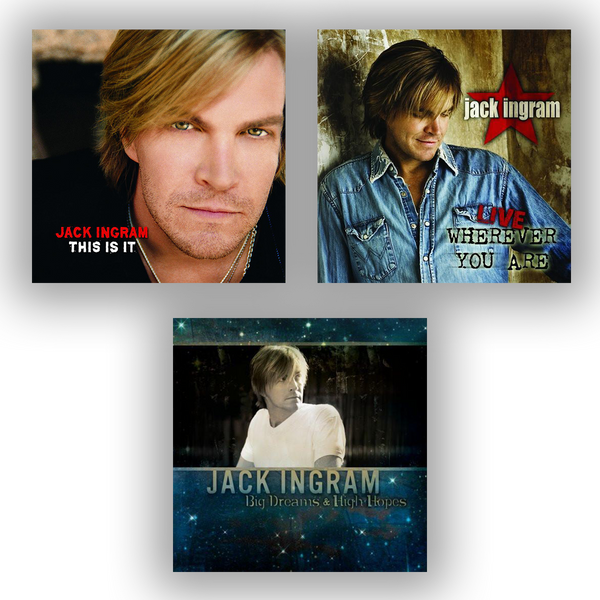 Jack Ingram: 13th Anniversary Bundle