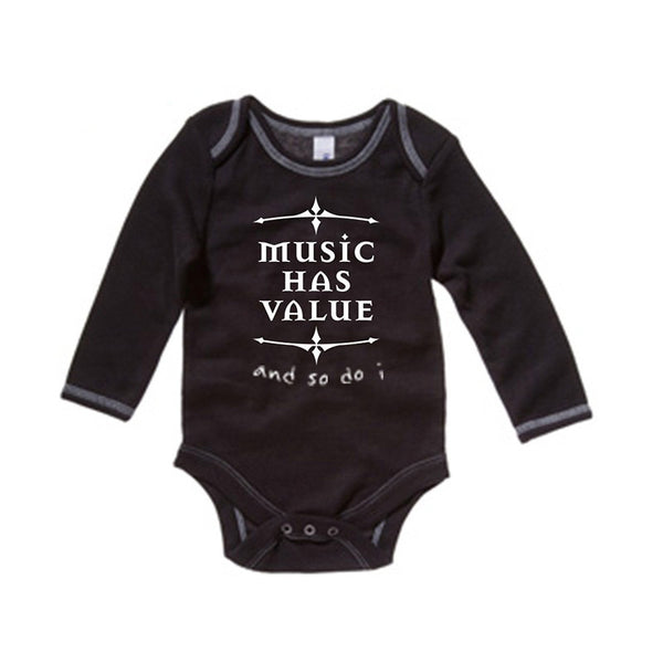 MHV Baby Long-Sleeve Thermal Onesie