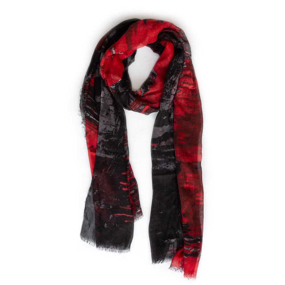 Crimson Slate Scarf | Music Has Value | Big Machine Label Group