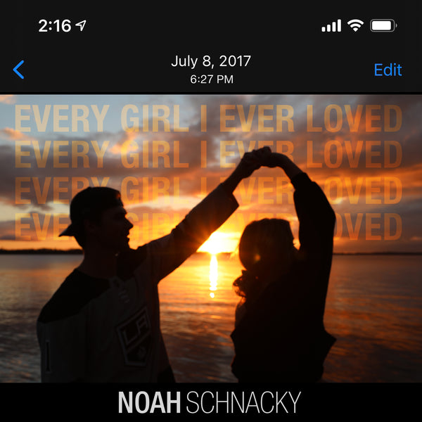 "Noah Schnacky - ""Every Girl I Ever Loved"" - Digital Download"