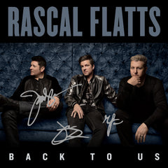Rascal Flatts - Back To Us CD - Autographed