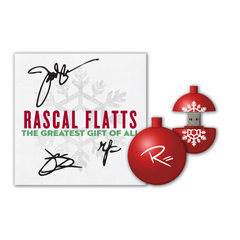 Rascal Flatts Signed Christmas Bundle