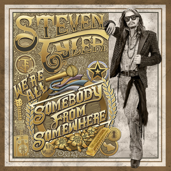 Steven Tyler - We're All Somebody From Somewhere - Vinyl