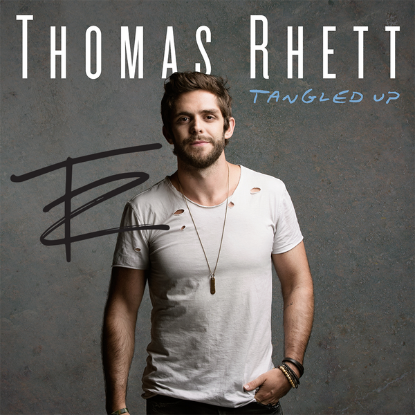 Thomas Rhett - Tangled Up - Autographed
