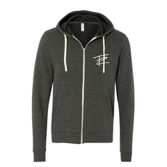 Tangled Up Zip-up Hoodie