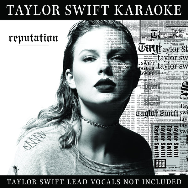 Taylor Swift - reputation Karaoke - CD