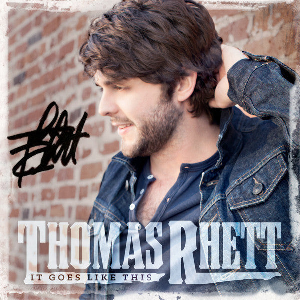 Thomas Rhett - It Goes Like This - Autographed