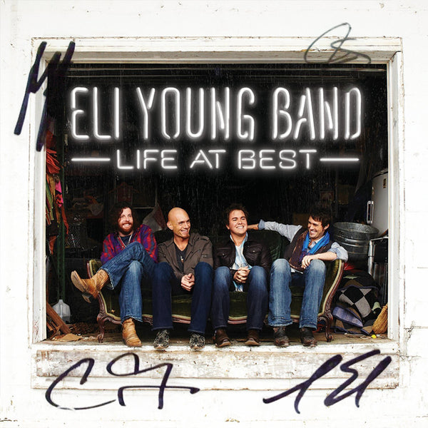 Eli Young Band - Life At Best - Autographed