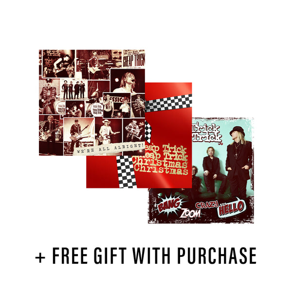 Cheap Trick Day CD Bundle + Free Surprise Gift