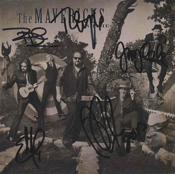 The Mavericks - In Time - Autographed