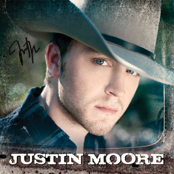 Justin Moore - Autographed