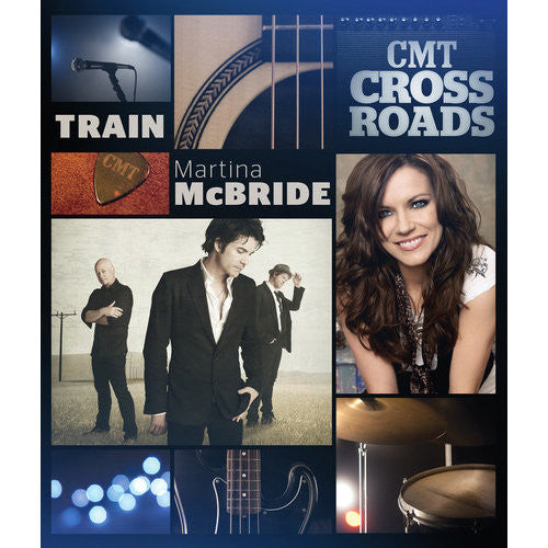 CMT Cross Roads: Train & Martina McBride - DVD