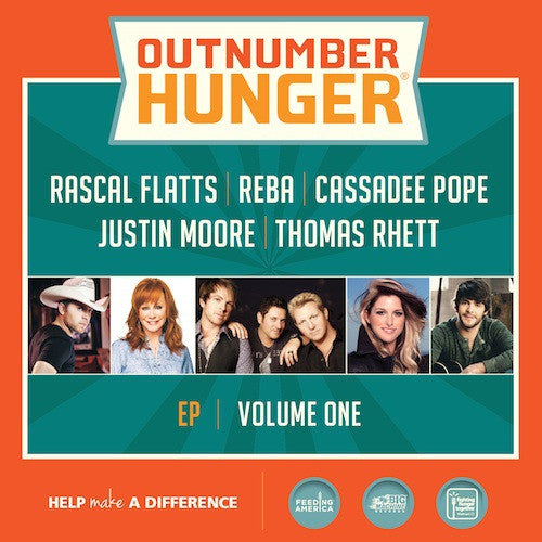 Outnumber Hunger, Volume 1 - CD EP
