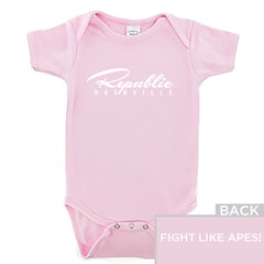 Republic Onesie Pink-NB
