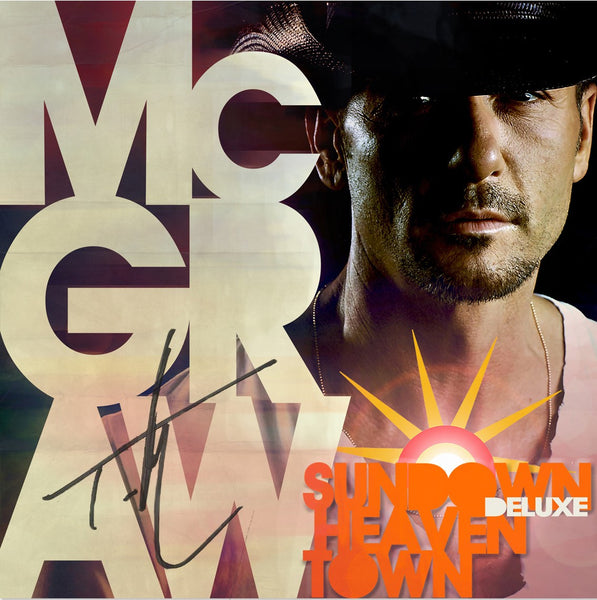 Tim McGraw - Sundown Heaven Town Deluxe - Autographed