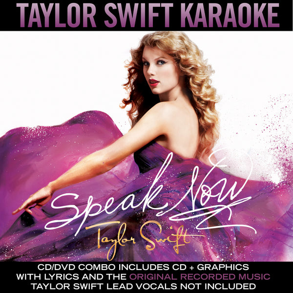 Speak Now - Karaoke - Digital Album