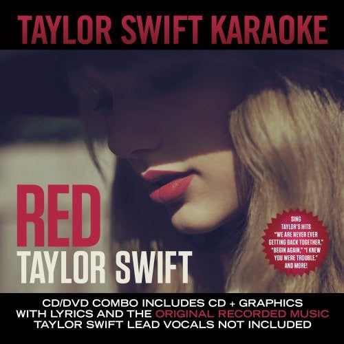 Red - Karaoke CD/DVD