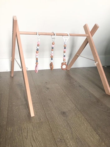 Wooden Play Gym & Accessories