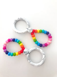 Rainbow Infinity Teether