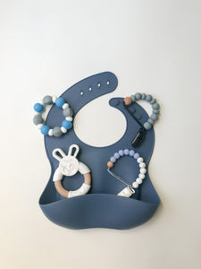 Navy Bib TRIO bundle