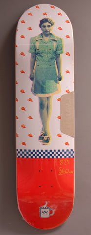 HABITAT SKATEBOARDS x Twin Peaks Shelly Skateboard Deck 8.25