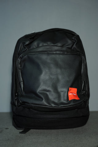 Chocolate Skateboard Simple Canvas Black Wax Backpack