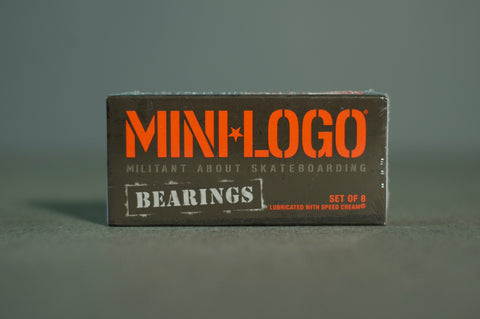 Bones Wheels Mini Logo Bearings