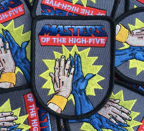 Spoking Fun Masters of the High-Five Patch