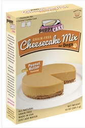 Peanut butter Cheese Cake Mix for Dogs
