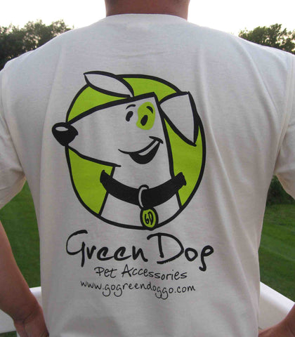 Green Dog Pet Accessories Men's T-shirt