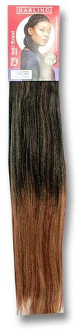 Darling - One Million Braids - Ombre Colour Hair 1/27/350 Reddish Ends - 1 UNIT