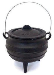 Best Duty - Potjie Pot (3 Legs) - Oil Cured - Size 3/4