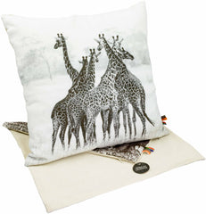 Africas Legends - Cushion Cover - Giraffe