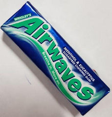 Airwaves - Sugarfree Chewing Gum - Menthol Eucalyptus