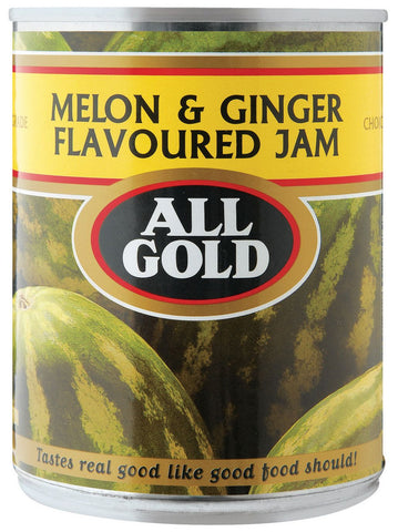All Gold - Jam - Melon & Ginger - 450g Cans